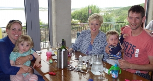The Stephens Family at Smugglers Creek Failte Ireland