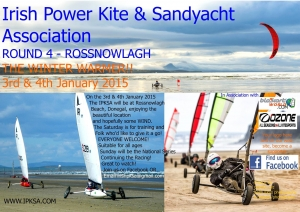 Irish Powerkite and Sandyacht at Rossnowlagh