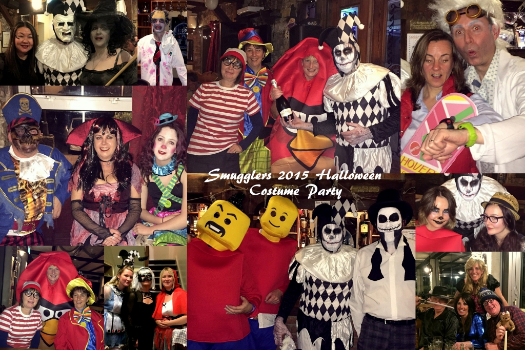 Halloween 2015 Collage for Website